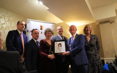 Congratulations to Ruth Hockey in winning Blarney Person of The Year Award's  – Hall of Fame Prize