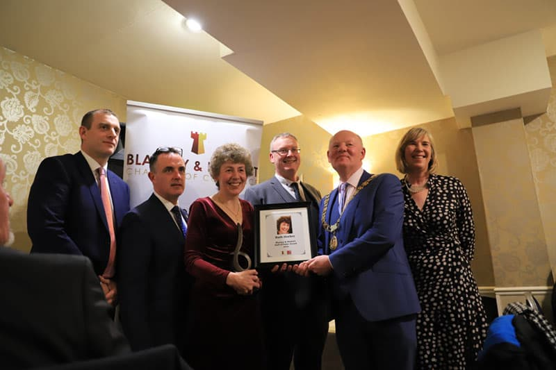 Ruth Hockey wins Blarney Hall of Fame Award 2019