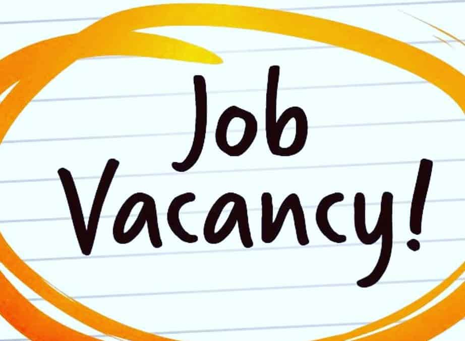 Job Vacancy – Associate Minister (Curate Assistant)